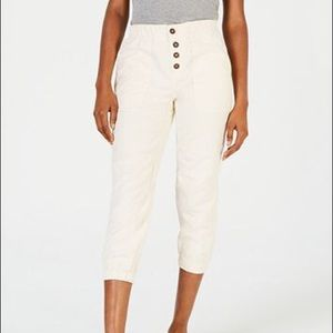 Free People Cadet Pull On Joggers Almond Buff Med